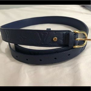 Authentic Louis Vuitton Emprient Belt